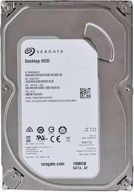 1 Tb hard disk seagate new