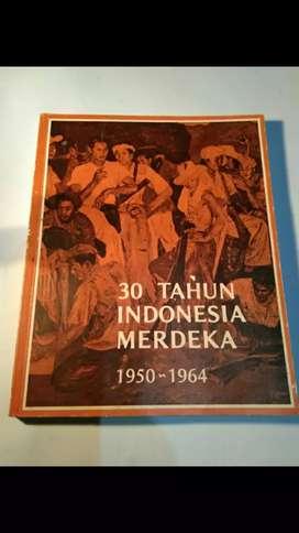 Buku 30 Tahun Indonesia Merdeka