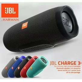 JBL CHARGE 3 PLUS WITH GOOD SOUND BASS AND BATTERY TIME-  WARRENTY