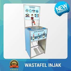 Wastafel Injak Portable Logo SMA