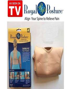 Royal Posture Corrector Back Support Belt - Beige
