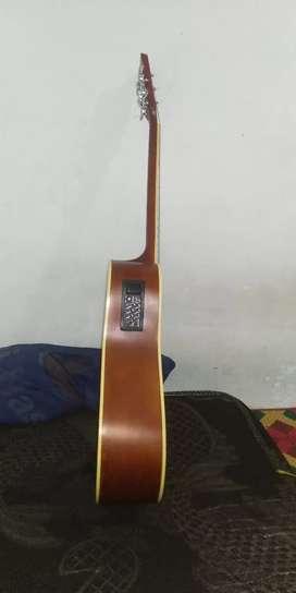 Di jual cepat gitar akustik elektrik harga nego
