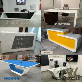 Office tables workstations reception tables conference tables chairs