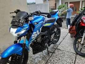 Suzuki GSX S 150cc LOW KM 14rb ISTIMEWA SEPERTI BARU