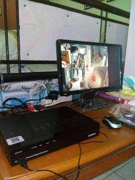 Paket CCTV 8 Kamera ( FULL HD/ 3MP/ 8 Channel) TURBO HD