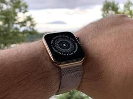 Apple watch series 4 stainless steel gold