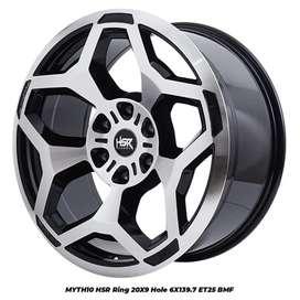 Velg Offroad HSR Wheel Ring 20 Untuk Mobil Pajero Sport