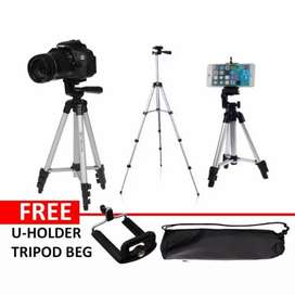 Tripod camera stand for mobile phone