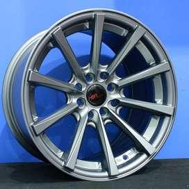 HUSTLER JD9018 R16x7/85 Lubang8 SMG - HSR Velg/Pelek Mobil Import
