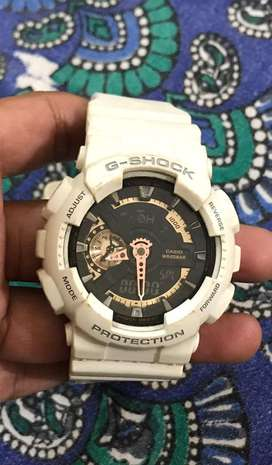 Genuine Fossil and G-shock watch