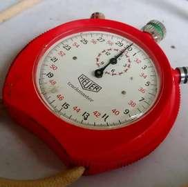 Stopwatch Heuer Trackmaster. Tahun 1970 (RARE)