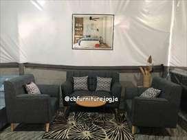 sofa tamu 1 paket warna bisa  custome