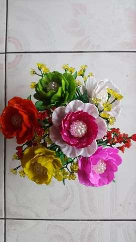 Bunga akrilik handmade