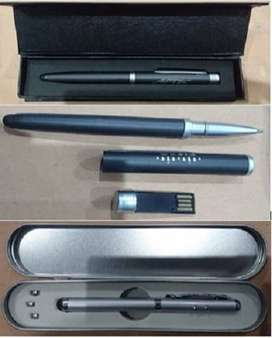 Stylus Pen with USB - Pen with Pointer & Torch