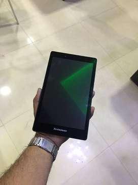 Used Lenovo 4G Teblet 1 gb ram 16 gb storage 8''inch screen A++CONDTIO