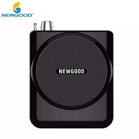 Newgood Megaphone Mikrofon Penguat Suara with USB TF Card FM Radio