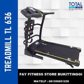 Treadmill Listrik 3 Fungsi Auto Incline TL 636 Murah Bergaransi