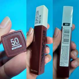 LIPSTICK NEW & ORI Maybelline Super Stay Matte Ink-Voyager