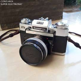 The Zeiss Contarex Electronic Super 35mm Camera Leica