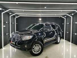 Fortuner 2.7 G Lux bensin th 2014 Hitam Langsung Terima Nama Pembeli