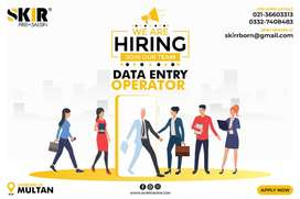 DATA ENTRY REQUIRED