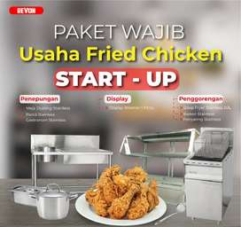 Paket Buka Usaha Fried Chicken Pemula + Tutorial Lengkap di Serang