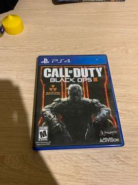 BD PS4 PS 4 Call Of Duty Black OPS 3