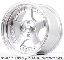 Velg mobil terlengkap kab banyumas 409 Ring 15 Hsr wheel