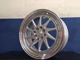 Velg Racing ZORA HSR R17 Lebar 75/85  H8X100/114,3 ET3020 SMFML