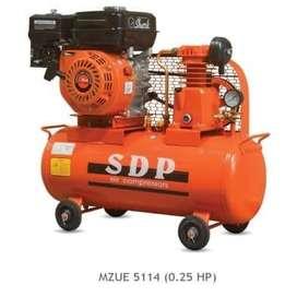 Kompresor Angin Bensin 0.25hp merk SDP