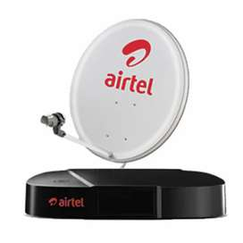 New airtel dth 2400/- 1 year recharge free free free