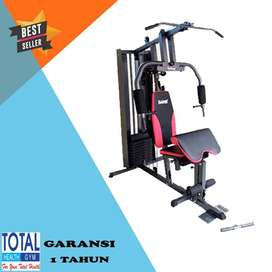 FREE ONGKIR Home Gym 1 Sisi TL 008 Total Fitness