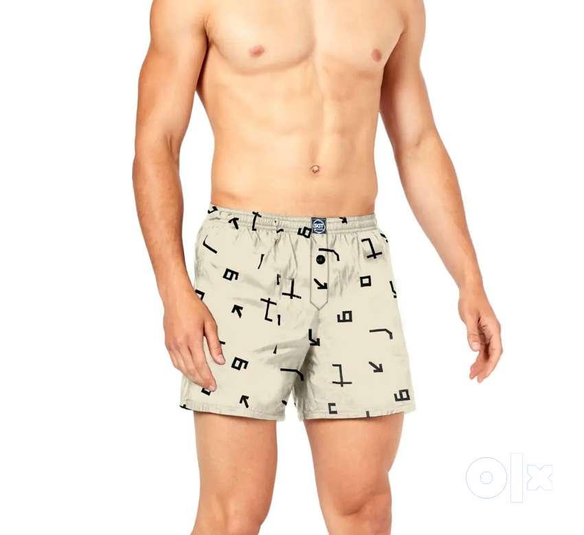 Boxer shorts, men shorts