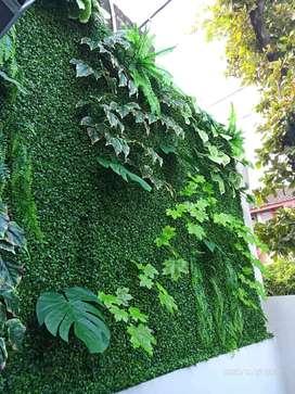 Vartical garden sintetis daun dolar