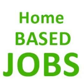 Home based part time job paper novel book