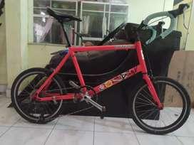 Minivelo fullbike alloy