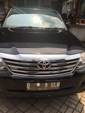 Jual Toyota Fortuner G Lux