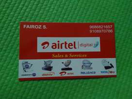 AIRTEL DIGITAL TV SALES AND SERVICES