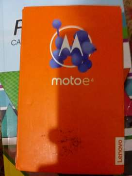Moto E4 Finger Print Dual Sim 2/16 Condition 9.5 With Box PTA Approved