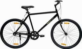 Maccity ibike black color fully maintained