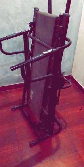 fitness world mechanical treadmill