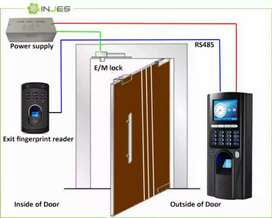 Rfid Cards Access Control Electric Door lock , face , finger