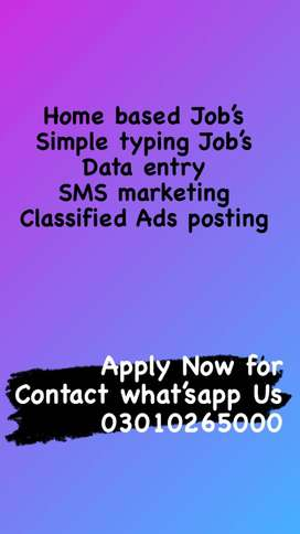 offering new work from home jobs