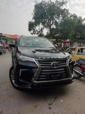 TOYOTA FORTUNER 2019 available for rent