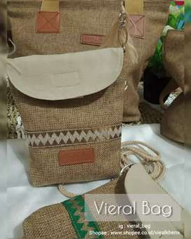 Sling Bag Pouch Dari Goni