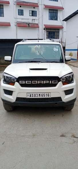 Mahindra Scorpio S6, 2015, Diesel