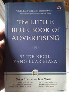 Buku The Little Blue Book of Advertising by Steve Lance & Jeff Woll