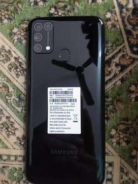 New molbile phon only. 20 days use  samsung m31 6gb /128gb