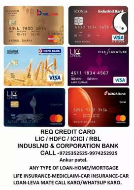 Credit card & loan Direct marketing