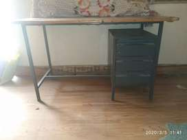 Study table, table, small table, table with drawer
